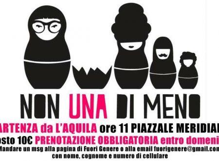 #25novembre #Ariccia Giornata internazionale per l'eliminazione della violenza sulle donne