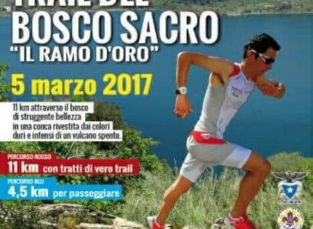 TRAIL DEL BOSCO SACRO #5marzo #2017