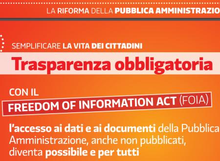 Diritto alla Conoscenza #FOIA lezione di Stefano #Rodota