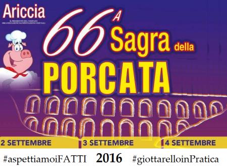 """#Ariccia #rendiconto #Sagra2016  """"37mila EURO di #utile"""" dagli sponsor #IGNOTI per spese #IGNOTE"""