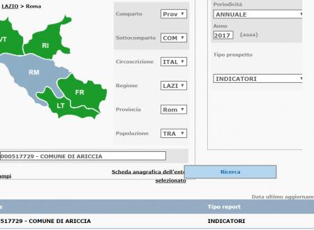 #SIOPE #Ariccia 2017: incassi 24mln vs pagamenti 25mln #openData banca d'Italia fonte siope.it