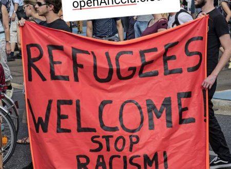 benvenuti migranti #ariccia #iostoconRiace #siamotuttiRiace #restiamoUmani #aricciaPalese